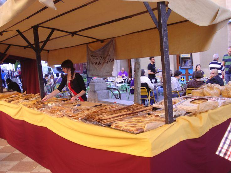 4a Fira de la ratafia i mercat de productes de la terra de Centelles (Barcelona). 01 i 02 de juny de 2013. Forn Franquesa (Perafita)