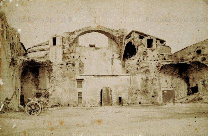 Terme di Diocleziano Anno: 1862