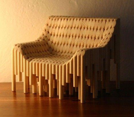 Kimseye vermem diyeceğiniz harika bir koltuk tasarımı