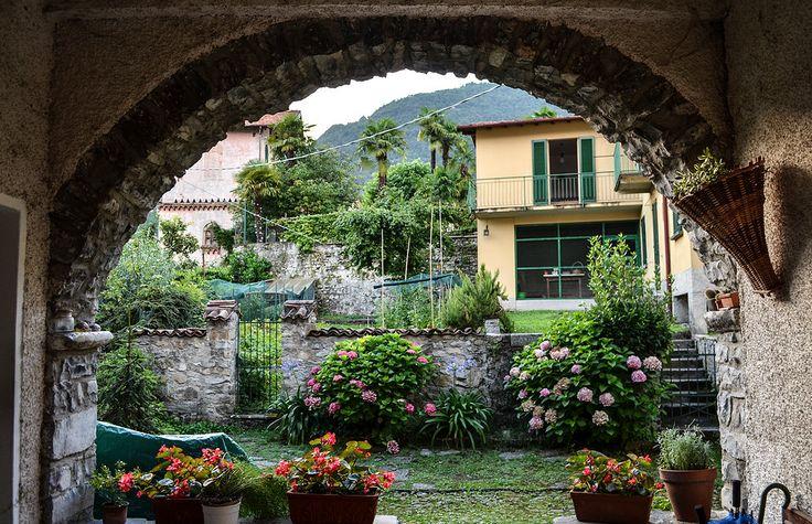 Lenno, Lake Como, Italia