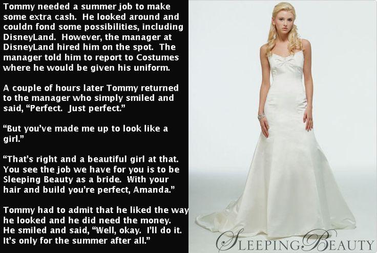 A bride at Disneyland | Tg captions Brides | Dresses, Tg ...