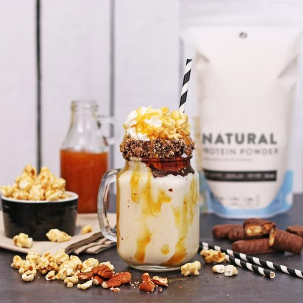 YouFoodz | Natural Protein Powder - Vanilla $29.95 | A premium, low calorie, high protein shake - that's completely natural! There's no added sugar or preservatives, plus it's gluten free, making it the perfect way to energise and fuel your body #BloatFree | #Youfoodz #HomeDelivery #YoullNeverEatFrozenAgain
