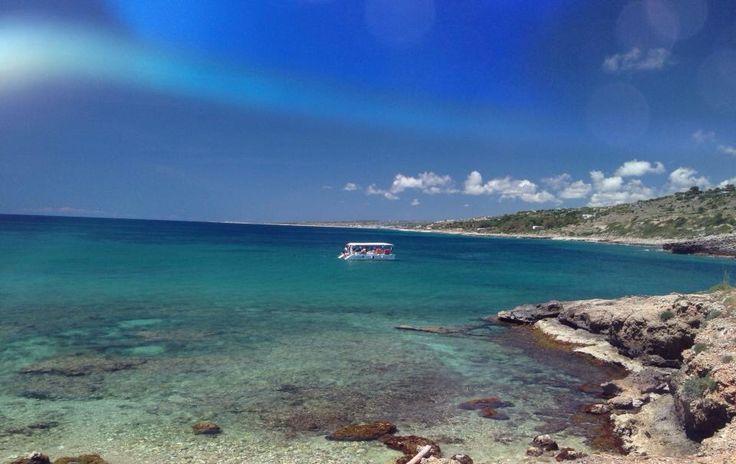 San Gregorio. The bay.
