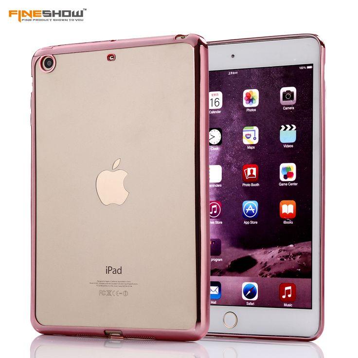 $4.49 (Buy here: https://alitems.com/g/1e8d114494ebda23ff8b16525dc3e8/?i=5&ulp=https%3A%2F%2Fwww.aliexpress.com%2Fitem%2FFor-iPad-MINI2-3-Luxury-Crystal-Electroplating-Frame-for-iPad-MINI2-MINI3-Transparent-Soft-TPU-Plating%2F32770007156.html ) For iPad MINI 2 3 Luxury Crystal Electroplating Frame  for iPad MINI2 MINI3 Transparent Soft TPU Plating Tablet Case  Capa CL936 for just $4.49