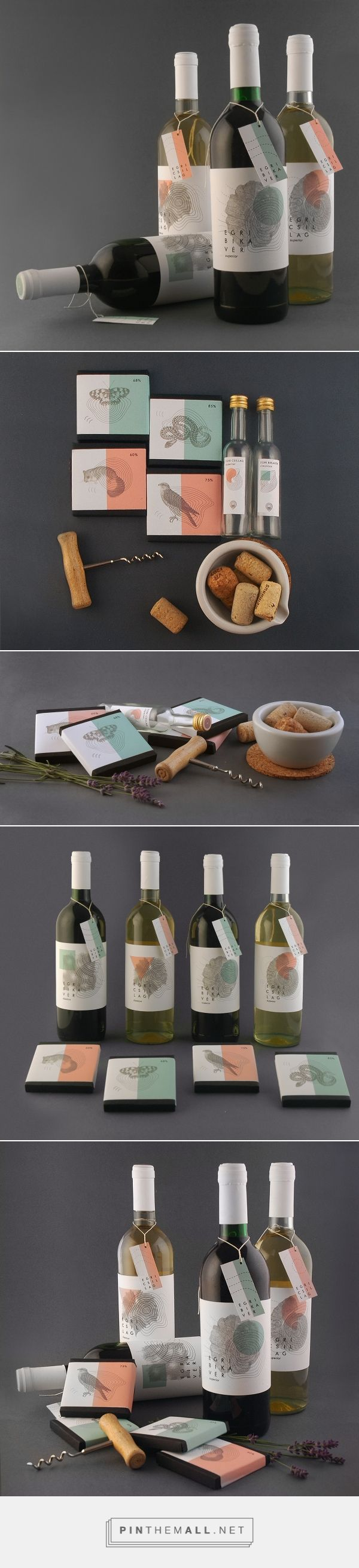 Egri Bikaver Wine Label and Packaging by Ancsa Borbas (Student Project) | Fivestar Branding Agency – Design and Branding Agency & Curated Inspiration Gallery
