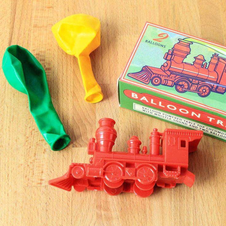Balloon Powered Train Toy Stocking Filler