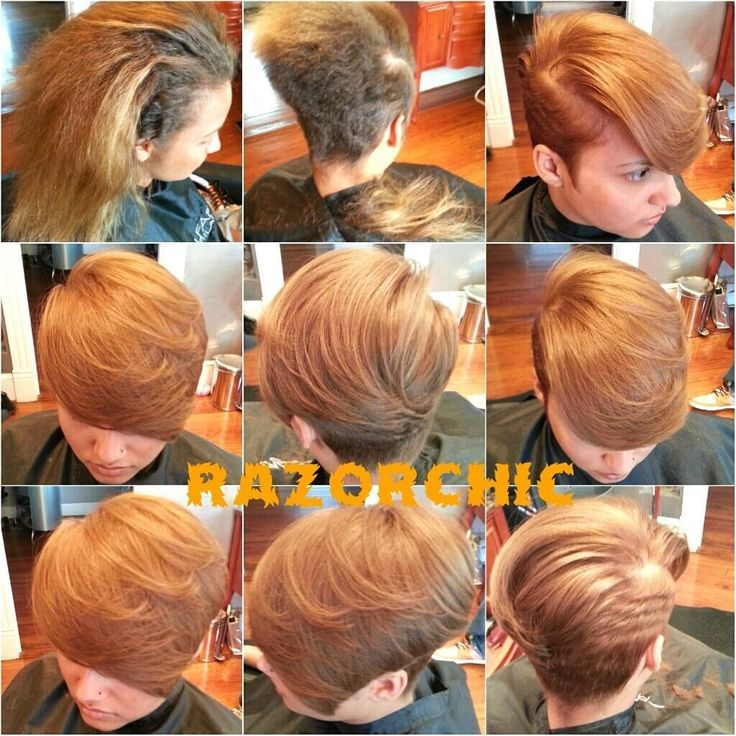 step by step by razor chic of Atlanta