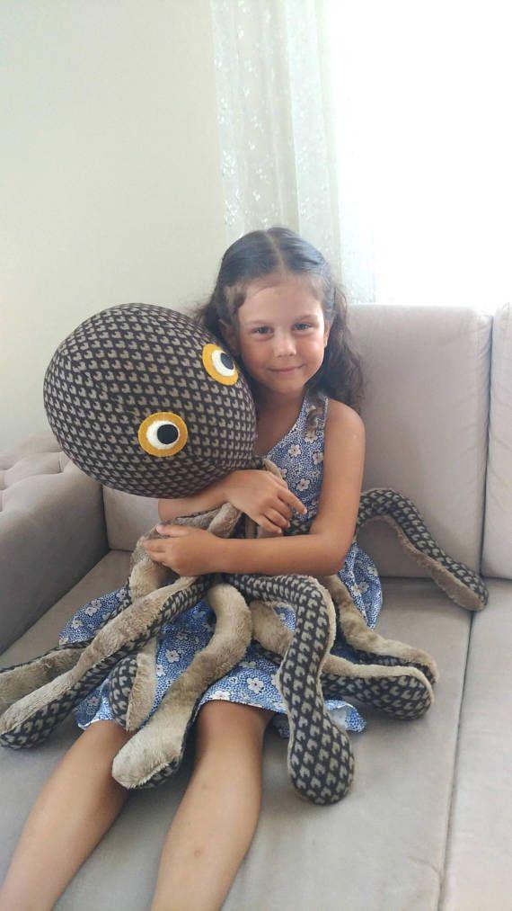 Soft kids toy stuffed toy octopus big size stuffed animal gift