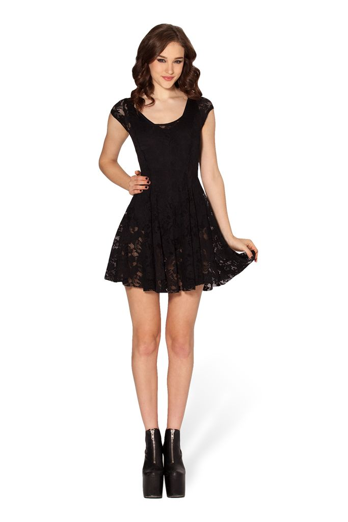 S - Evil Cheerleader Lace Dress 2.0