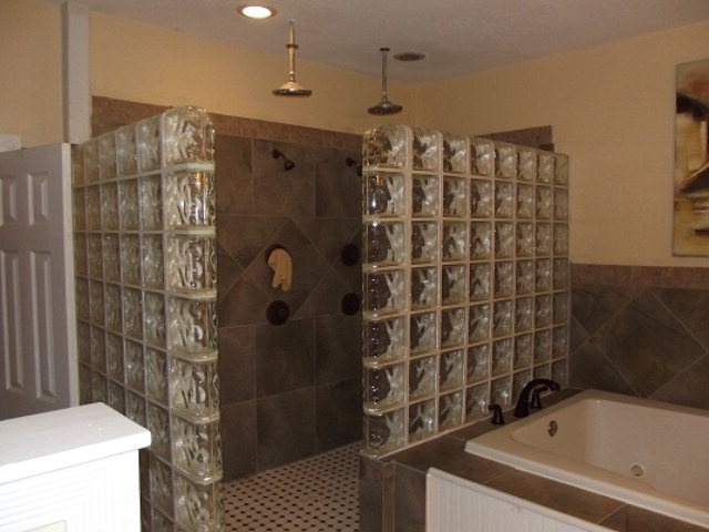 large shower with two shower heads is a must have and i am starting to