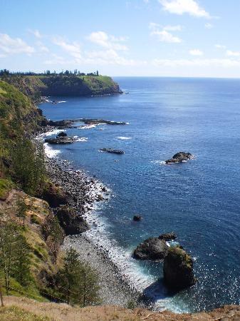 Norfolk Island - http://www.pilotguides.com/tv_shows/globe_trekker/shows/specials/round-the-world.php