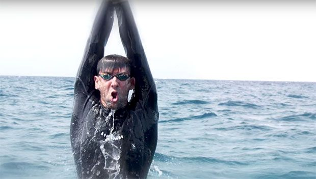 Shark Week: Michael Phelps Barely Loses In Race Versus A Great White Shark https://tmbw.news/shark-week-michael-phelps-barely-loses-in-race-versus-a-great-white-shark  Michael Phelps has faced a lot of fierce competitors, but a great white shark proved to be his most challenging opponent. The most decorated Olympian lost in his race against the beast to kick off Shark Week.This match-up was almost as anticipated at the upcoming Floyd Mayweather versus Conor McGregor fight! Michael Phelps…
