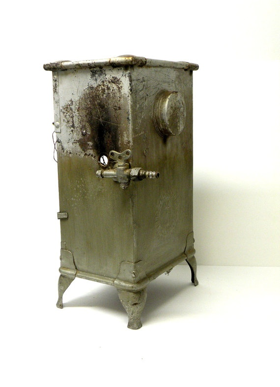 Vintage Reznor Reflector Gas Heater Shabby by UncommonRecycables, $172.00