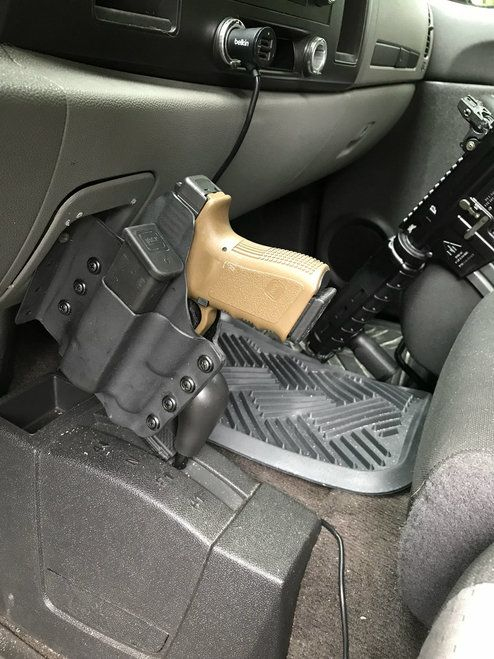 Top Mount Holster | Tactical gear | Car holster, 9mm holster