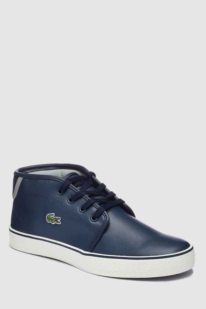 cf30ac4369e7 Boys Lacoste Junior Ampthill Boot - Blue in 2019 | Products ...