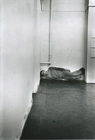 Bruce McLean: 'Levitation Piece', 1971