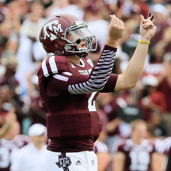 Scott Halleran/Getty Images Johnny Manziel, Texas A&M Aggies