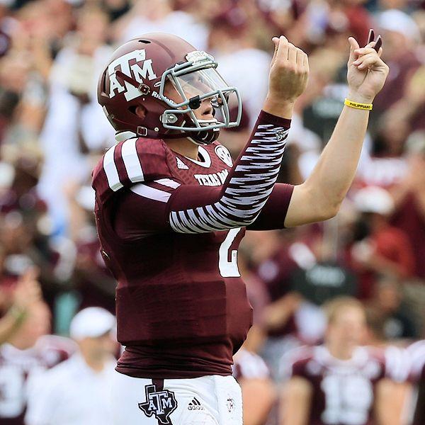 Scott Halleran/Getty Images Johnny Manziel, Texas A&M Aggies