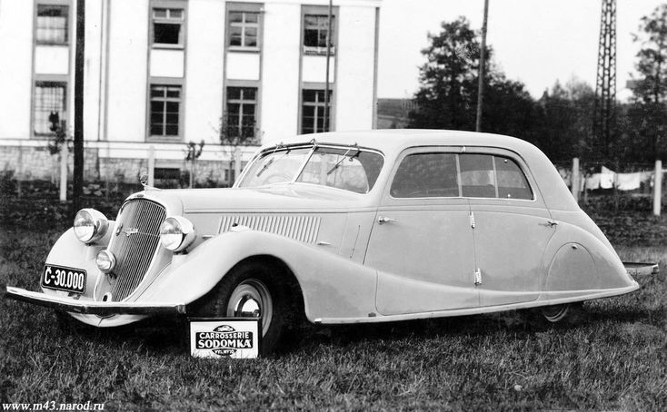 1937 Skoda Superb Type 913 Sodomka