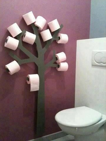 #DIY Toilet Paper #Tree .  -Home Design