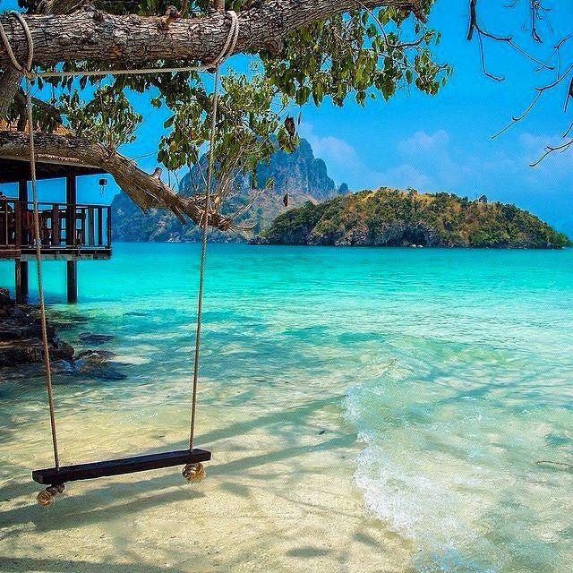 Pure swinging bliss in Thailand | Photo by @korsbrekke by earthpix