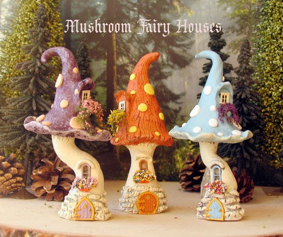 The Enchanted Mushroom Fairy House Spotted by bewilderandpine
