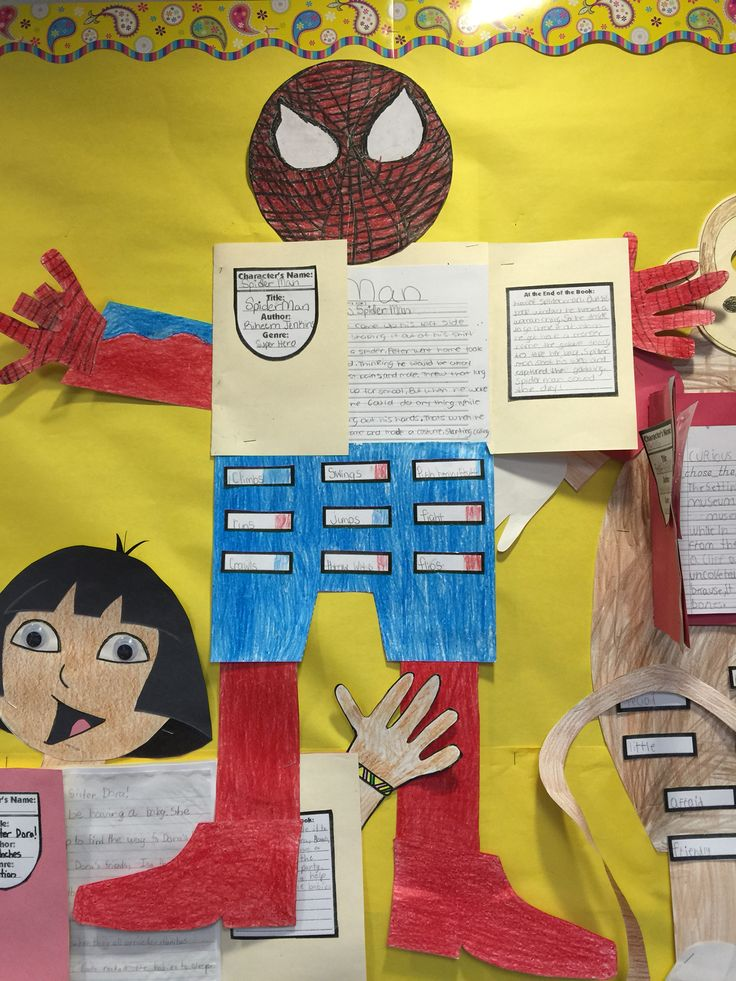 Spider man book report
