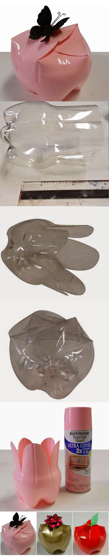 Fazer Embalagem De Presente Com Garrafas pet