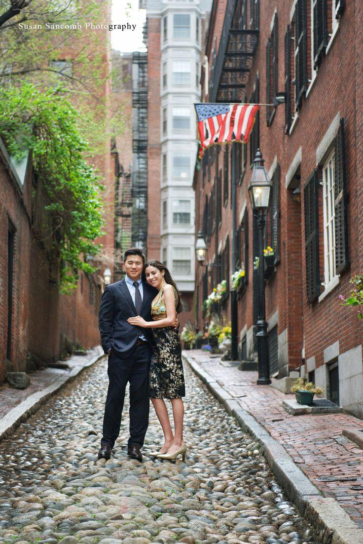 Valerie & Ned's Springtime Boston Engagement Session