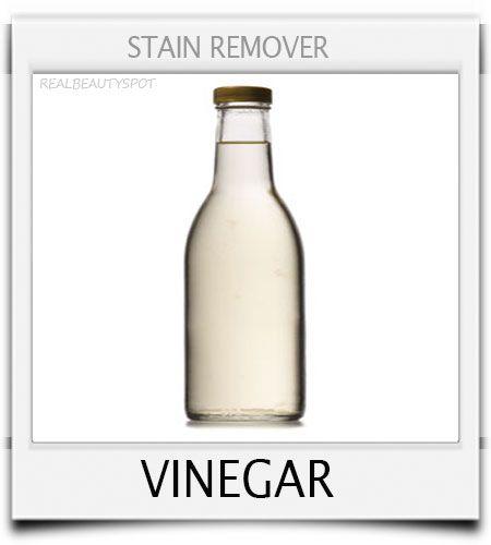 stain remover -  vinegar