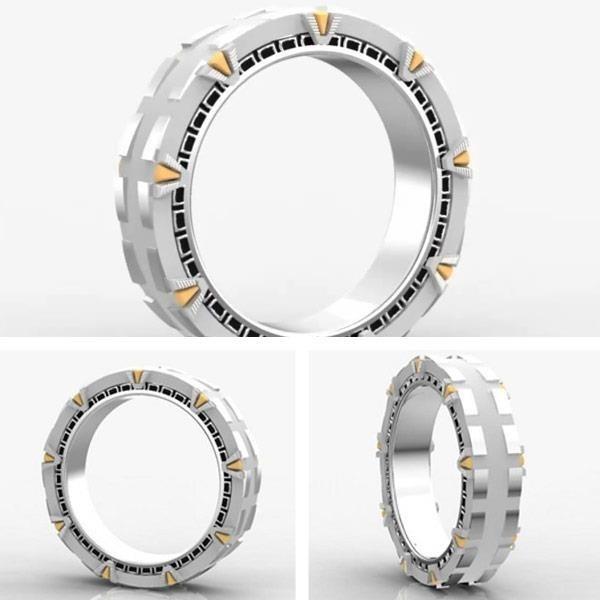 Stargate rings würde mir jemand einen Antrag mit diesem Ring machen, könnte ich nicht nein sagen xD
