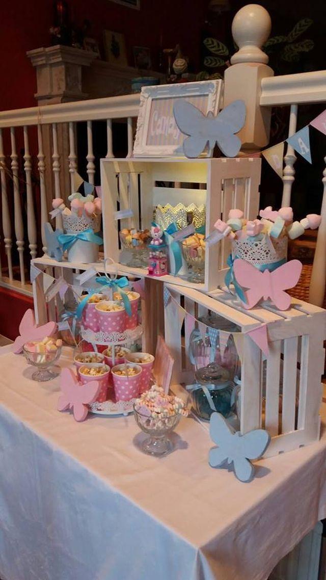 Ankerwerfer, Candy Bar, Pastell, Mädchengeburtstag