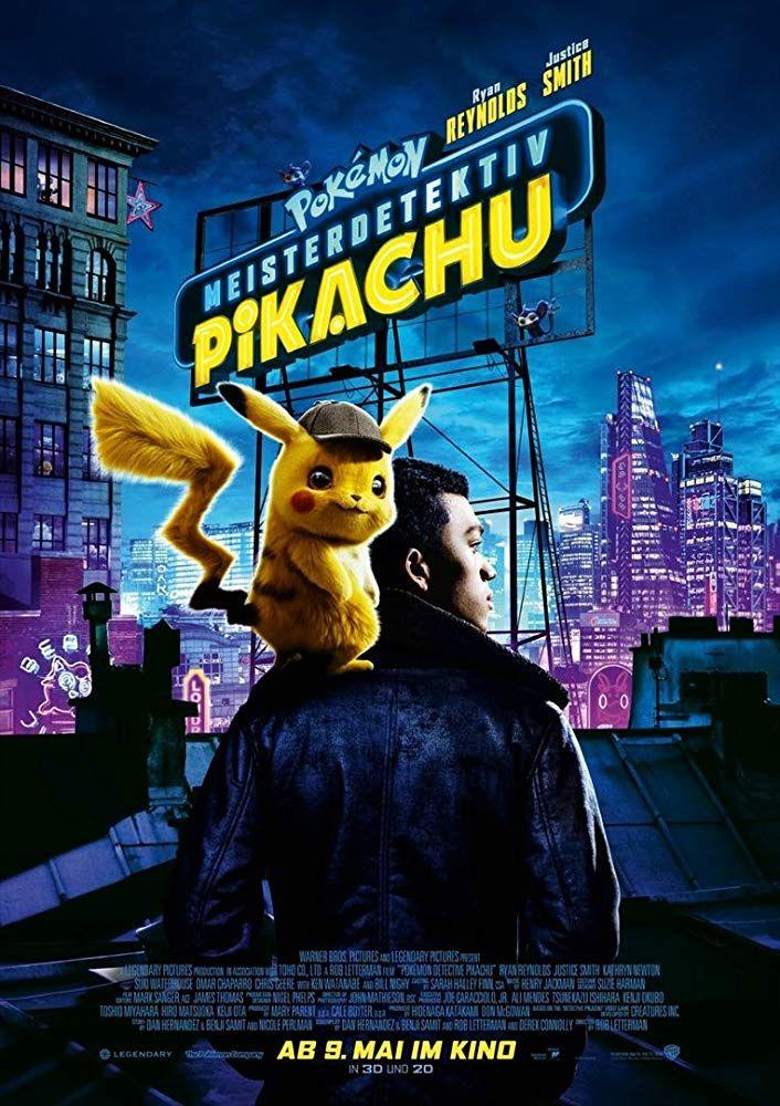 Pokémon Detective Pikachu Poster NEW 2019 Movie Pokemon FREE P+P CHOOSE UR SIZE