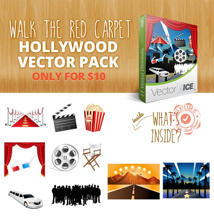 Download it here: http://vectorvice.com/vector-packs/hollywood-vector-pack