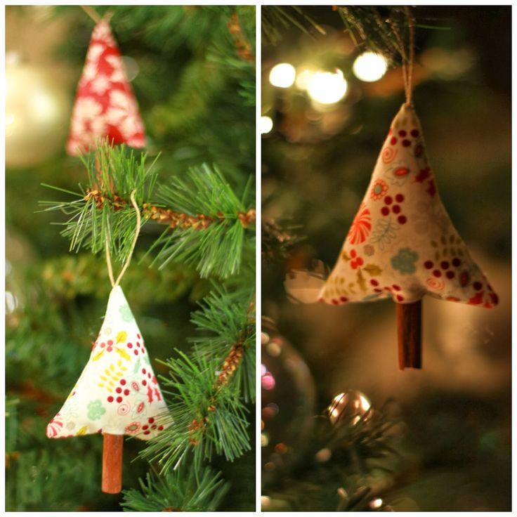 Adorno de Navidad con canela