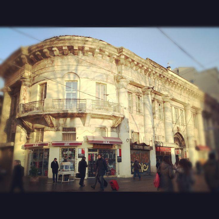 Narmanli Han, Beyoglu, Istanbul, Turkey. Istiklal caddesi