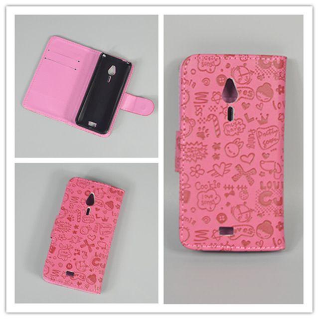 Mały zegarek Śliczny trzymać dwie Karty Skórzane Etui Cove z 2 Kart dla Nokia 230/230 Dual SIM darmo wysyłka