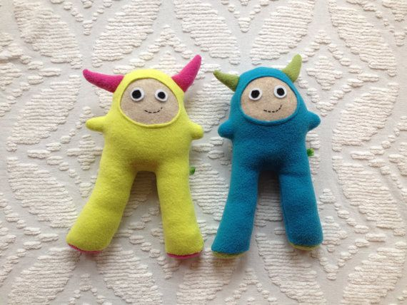 Baby Toddler Toy. $12.00, via Etsy. | Crafts | Pinterest | Monsters