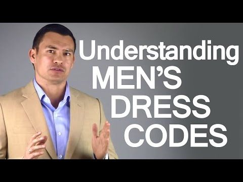 """These days, when we hear the phrase """"dress code"""" we're most likely to associate itwith workplace rules.  A lot of jobs still have written guidelines for employee attire,at varying degrees of strictness.  Much rarer are dress codes for social events.  These written requests for attendeeattir"""