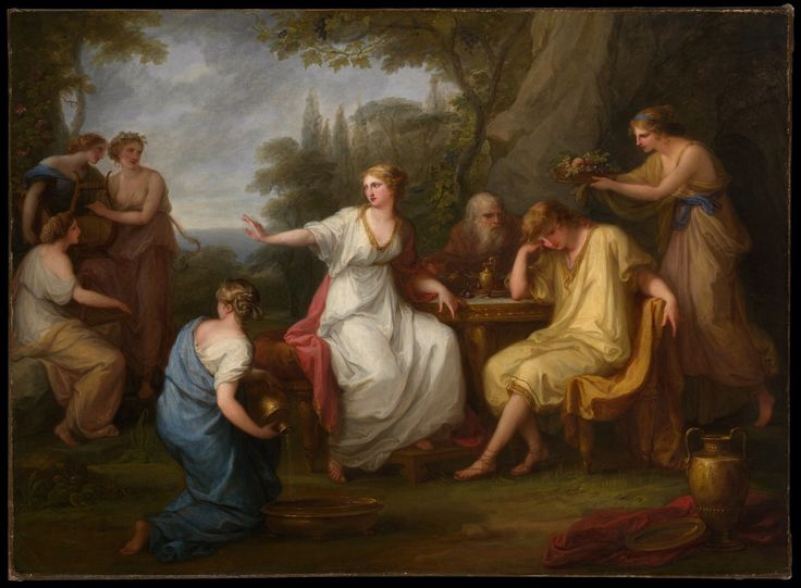 The Sorrow of Telemachus, 1783 Angelica Kauffmann (1741–1807)
