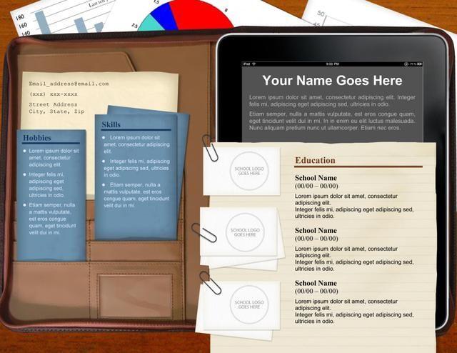 108 best Resume ideas images on Pinterest Resume ideas, Resume - resume presentation folder