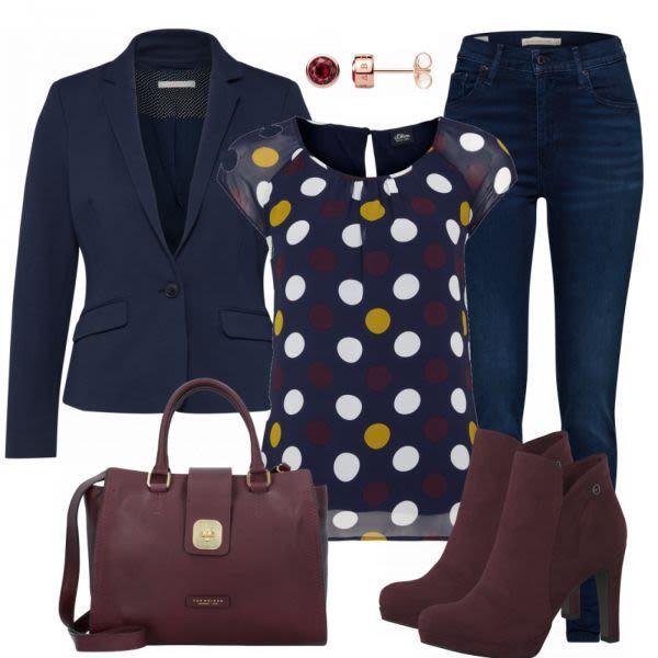 Bridget Damen Outfit – Komplettes Business Outfit …
