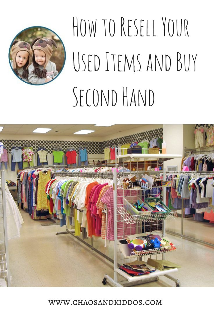 Second hand clothing stores online