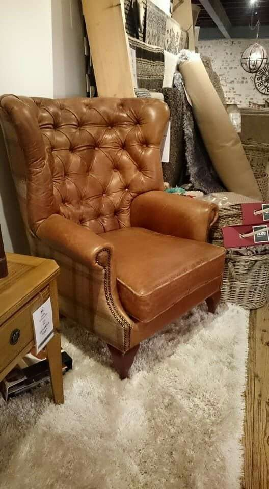 How cosy does our Harrier armchair look? It really is as comfy as it appears! www.meyerandmarsh.co.uk