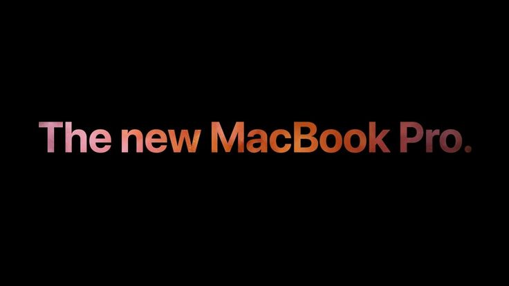 The new MacBook Pro featuring Touch Bar – So much to touch – Apple
