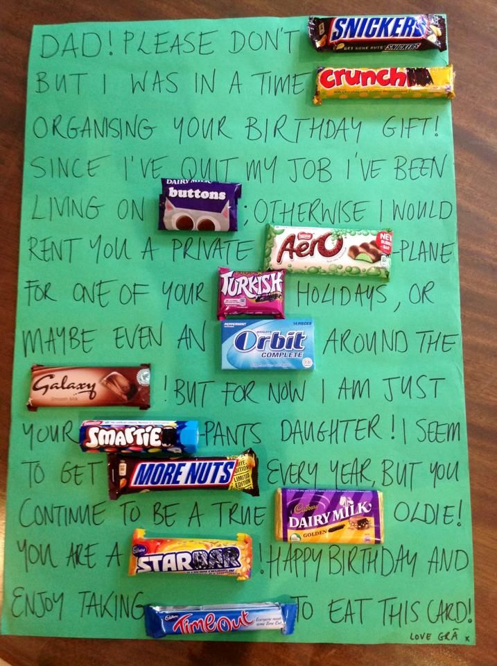 A Poor Irish Girls Sweet Birthday Card To Her Dad