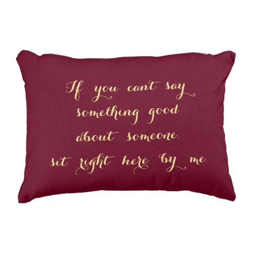 Sit Proper Right here By Me Humorous BFF Gossip Lover Pillow.  Take a look at more by going to the image