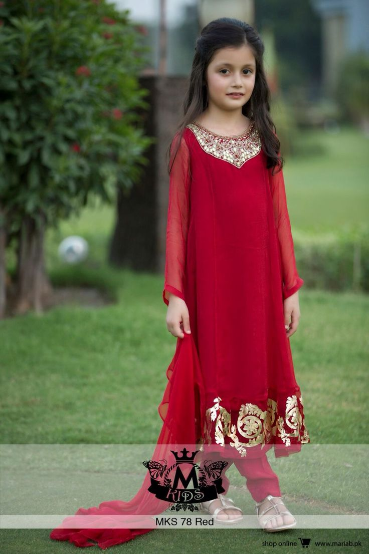 Different stylish fancy dress lehenga pk - Maria B Red Dress 9 Month Red Dresses
