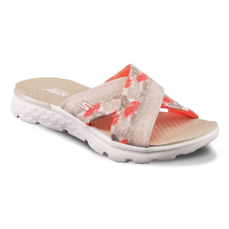Skechers On the GO 400 Tropical Women's Sandals, Size: 10, Turquoise/Blue (Turq/Aqua)