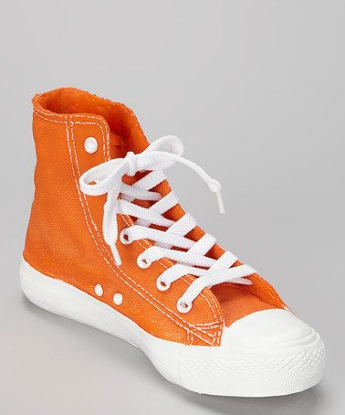 Orange Sneaker Bank by Dennis East International on #zulily